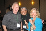 Howie Carroll, Harry Eng and Jackie Stern