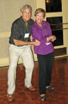 Bobby Zwick and Sharon Brodsky having fun dancing.