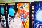 And vending machines in the hallways.