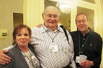 Bobbi Schwartzberg, Harry Pestine and Harold Malen happy to be there.